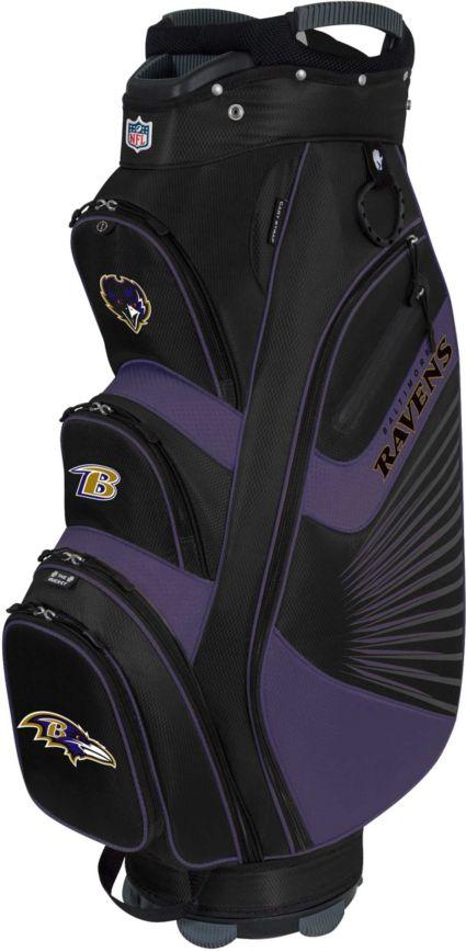 Team Effort Baltimore Ravens Bucket II Cooler Cart Bag