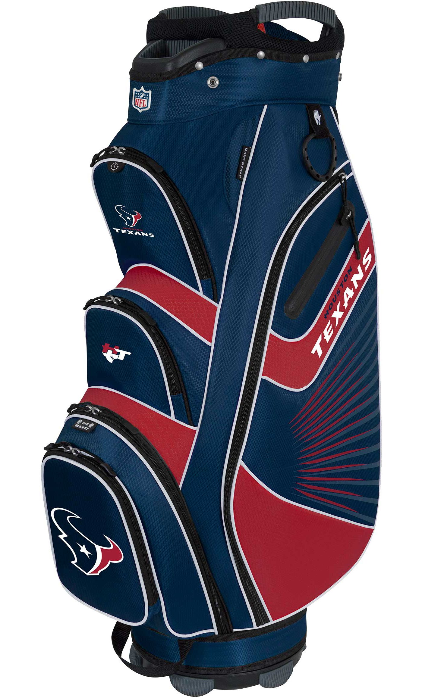 Team Effort Houston Texans Gridiron III Stand Bag