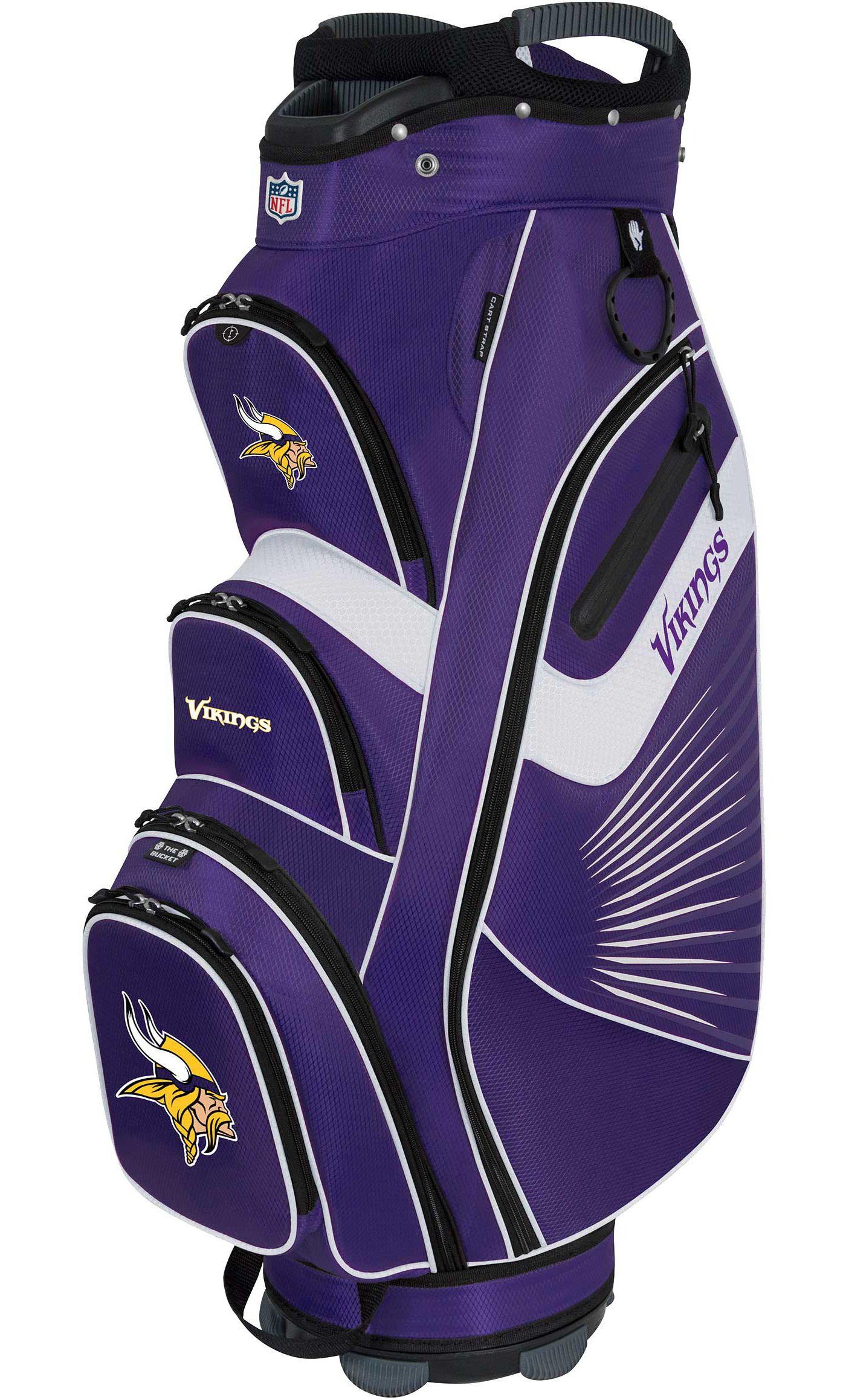 Team Effort Minnesota Vikings Bucket II Cooler Cart Bag
