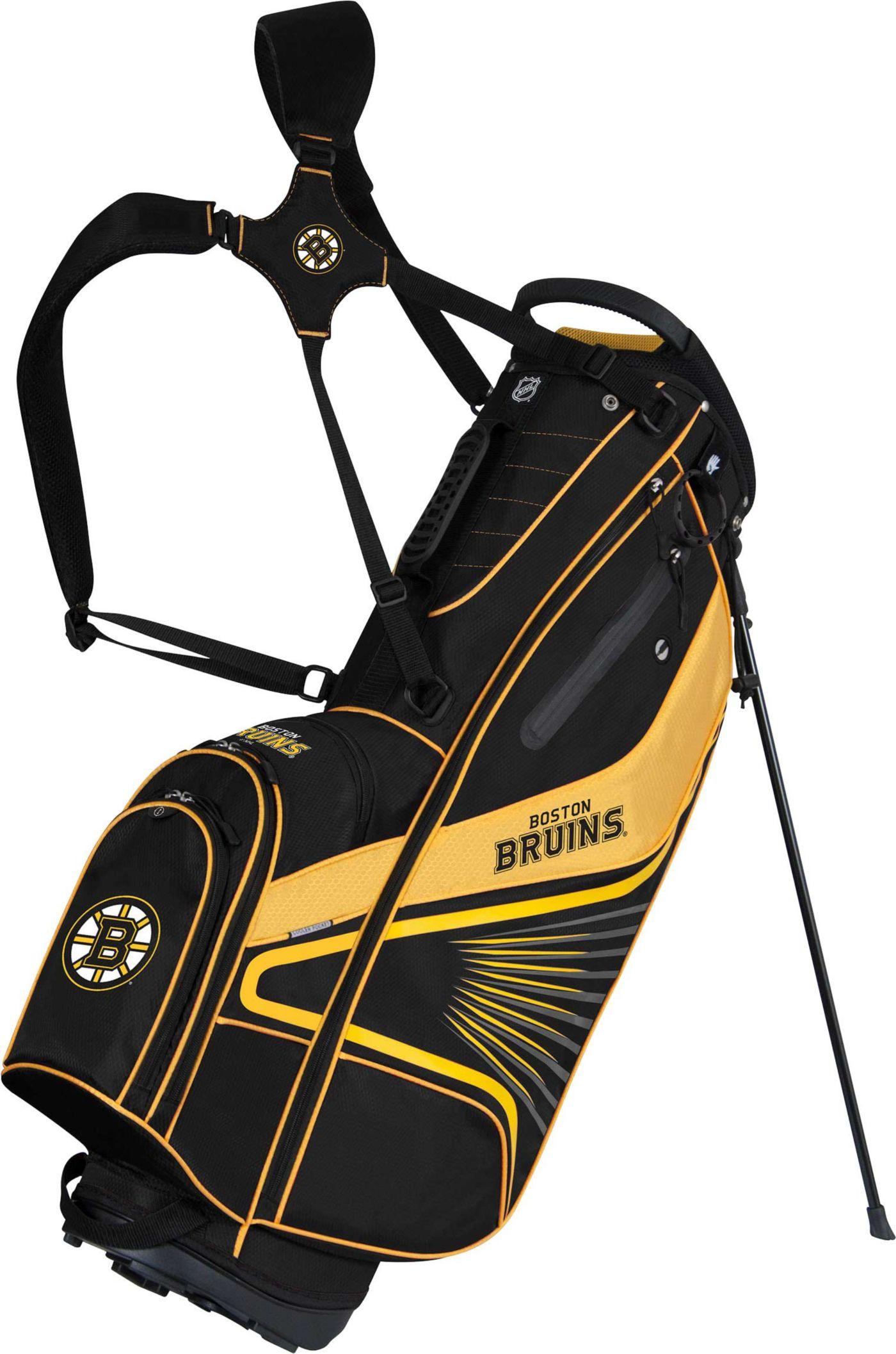 Team Effort Boston Bruins Gridiron III Stand Bag
