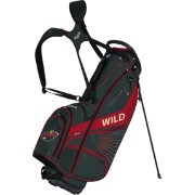 Team Effort Minnesota Wild Gridiron III Stand Golf Bag