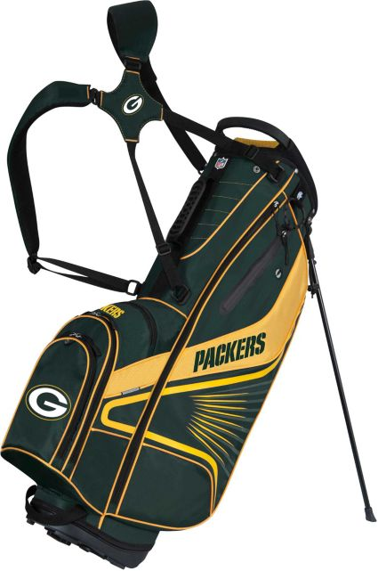 Team Effort Green Bay Packers Gridiron III Stand Bag
