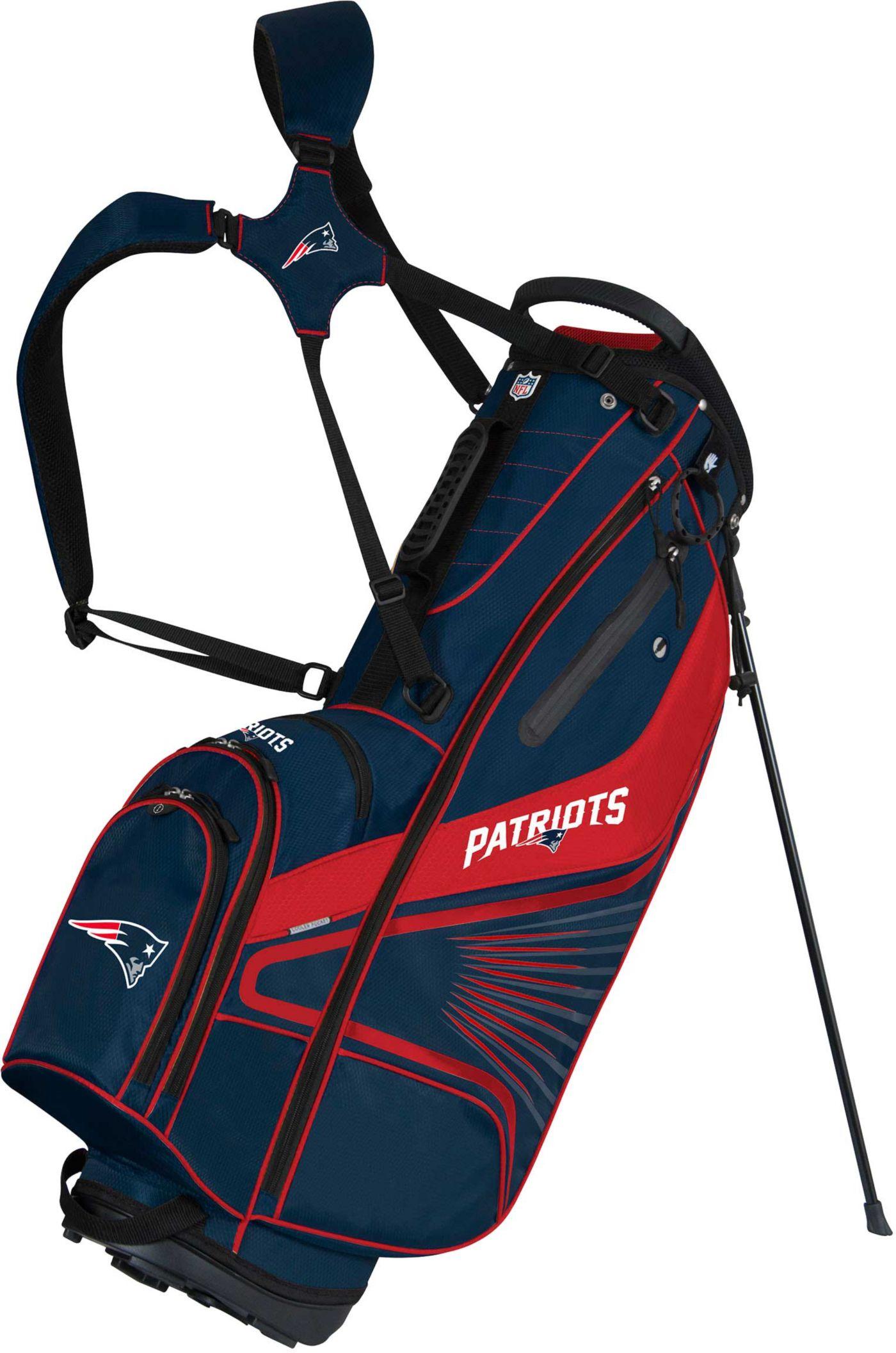 Team Effort New England Patriots Gridiron III Stand Bag