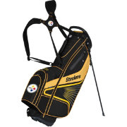 Team Effort Pittsburgh Steelers Gridiron III Stand Golf Bag