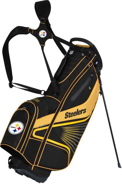 Team Effort Pittsburgh Steelers Gridiron III Stand Bag