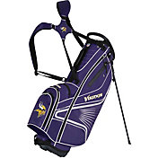Team Effort Minnesota Vikings Gridiron III Stand Golf Bag