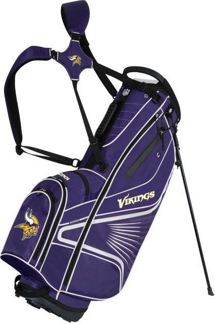Team Effort Minnesota Vikings Gridiron III Stand Bag