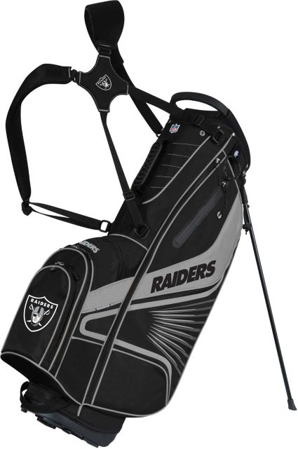 Team Effort Oakland Raiders Gridiron III Stand Bag