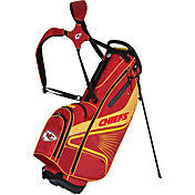 Team Effort Kansas City Chiefs Gridiron III Stand Golf Bag