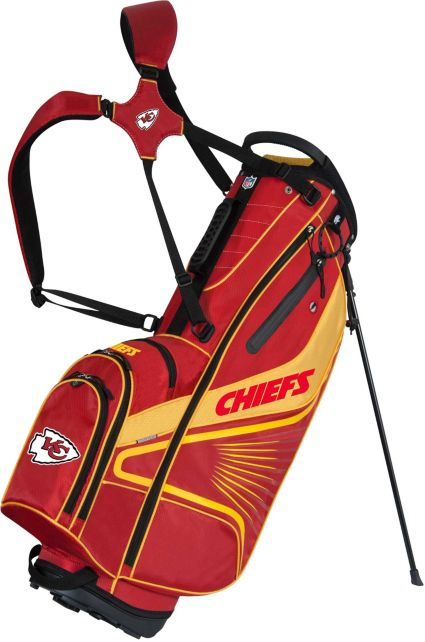 Team Effort Kansas City Chiefs Gridiron III Stand Bag