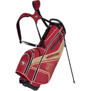 Team Effort San Francisco 49ers Gridiron III Stand Golf Bag
