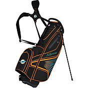 Team Effort Miami Dolphins Gridiron III Stand Golf Bag