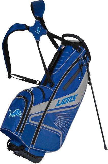 Team Effort Detroit Lions Gridiron III Stand Bag