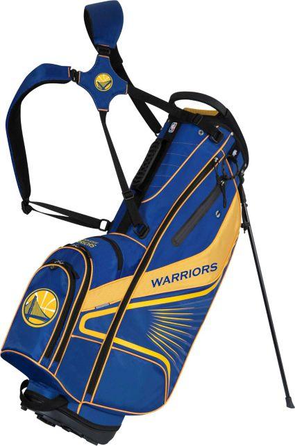Team Effort Golden State Warriors Gridiron III Stand Bag