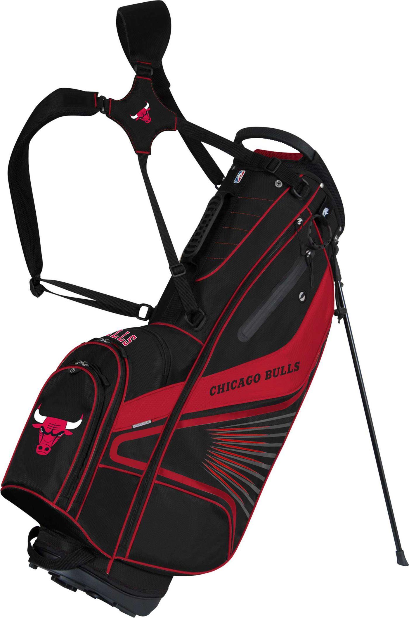 Team Effort Chicago Bulls Gridiron III Stand Bag