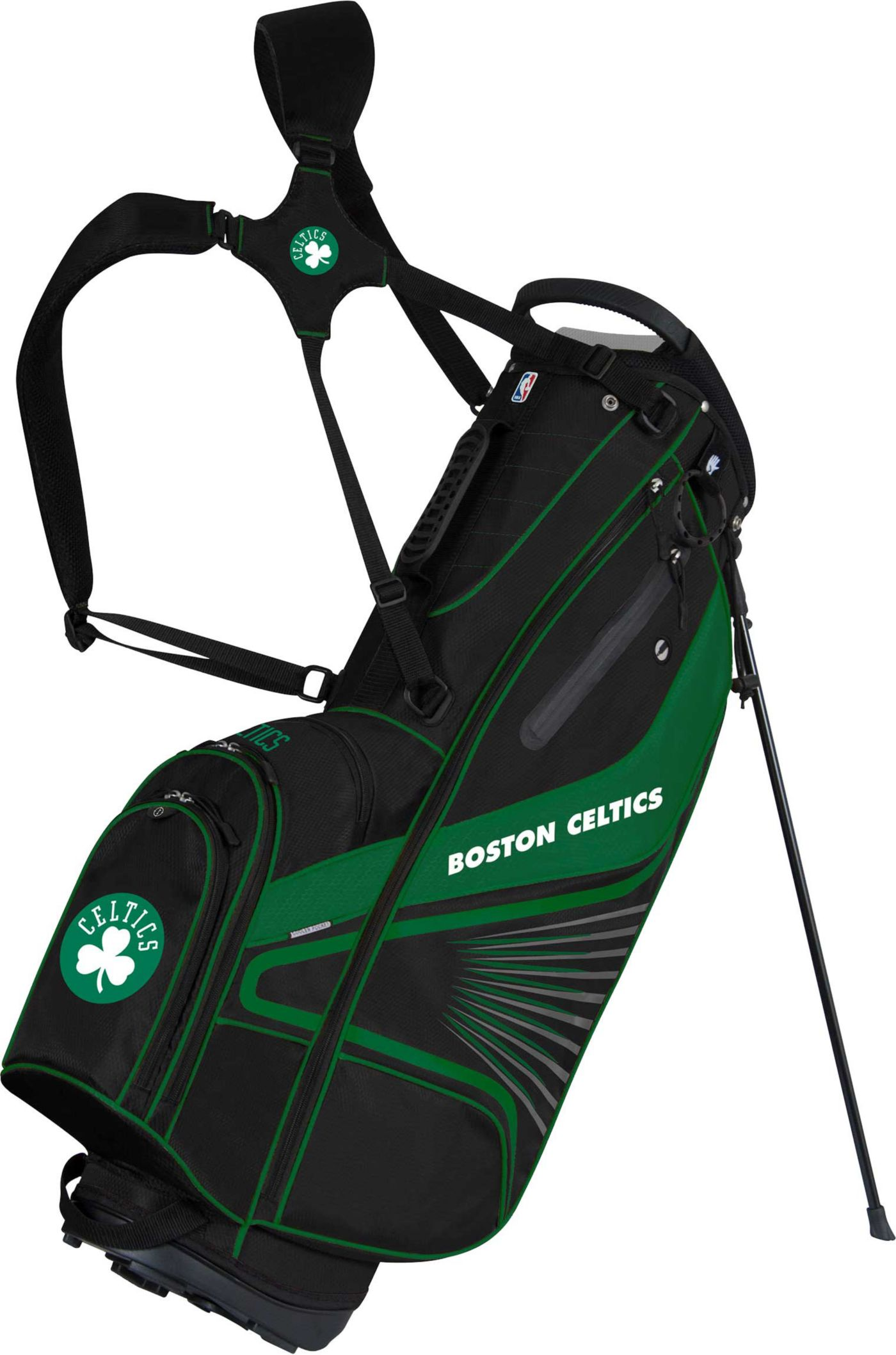 Team Effort Boston Celtics Gridiron III Stand Bag