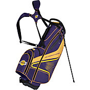 Team Effort Los Angeles Lakers Gridiron III Stand Golf Bag