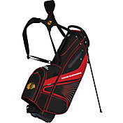 Team Effort Chicago Blackhawks Gridiron III Stand Golf Bag