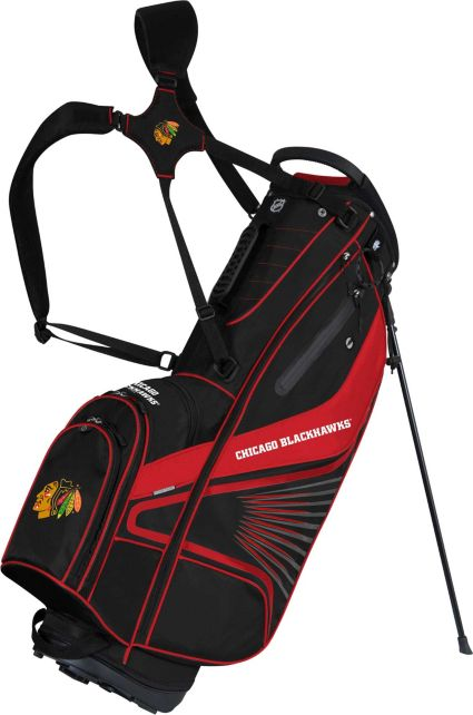 Team Effort Chicago Blackhawks Gridiron III Stand Bag