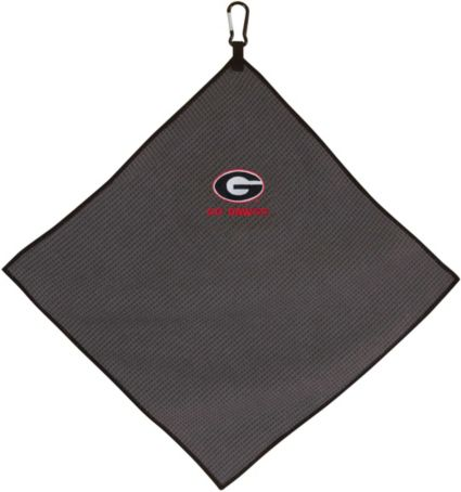 "Team Effort Georgia Bulldogs 15"" x 15"" Microfiber Golf Towel"