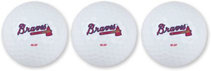 Team Effort Atlanta Braves Golf Balls - 3 Pack