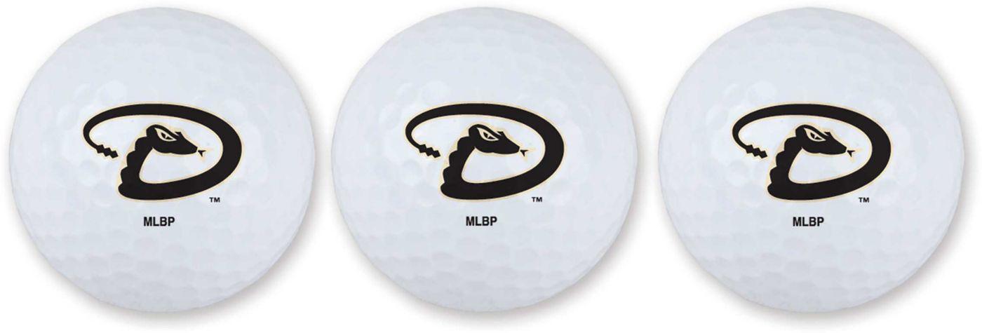 Team Effort Arizona Diamondbacks Golf Balls - 3 Pack