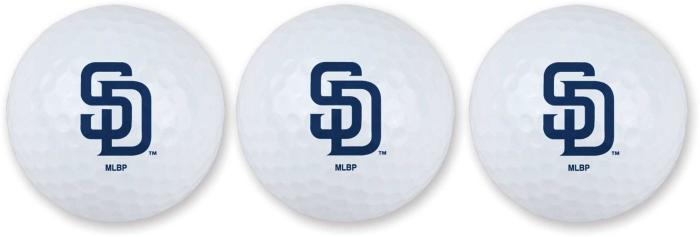 Team Effort San Diego Padres Golf Balls - 3 Pack