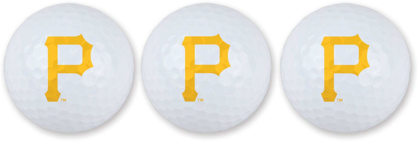 Team Effort Pittsburgh Pirates Golf Balls - 3 Pack