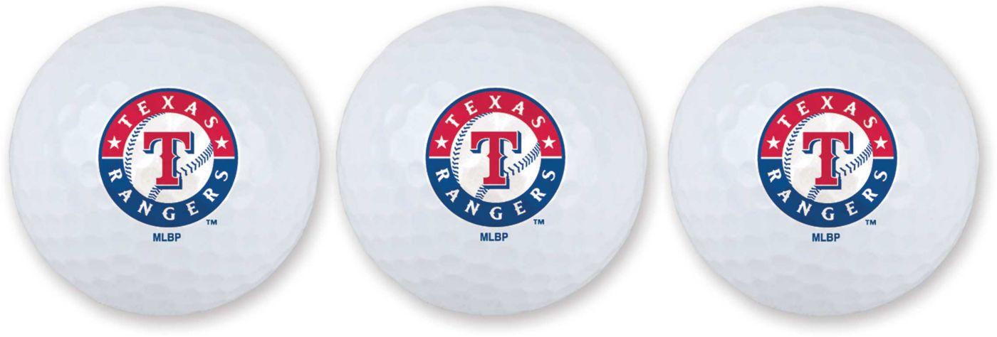 Team Effort Texas Rangers Golf Balls - 3 Pack