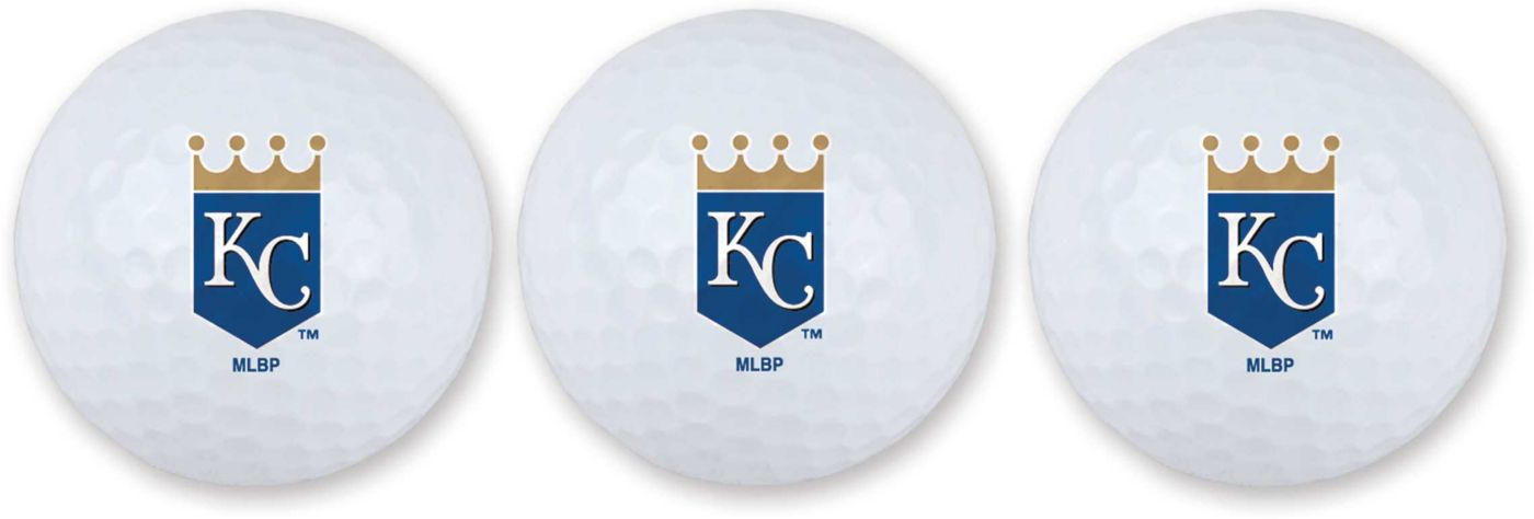 Team Effort Kansas City Royals Golf Balls - 3 Pack