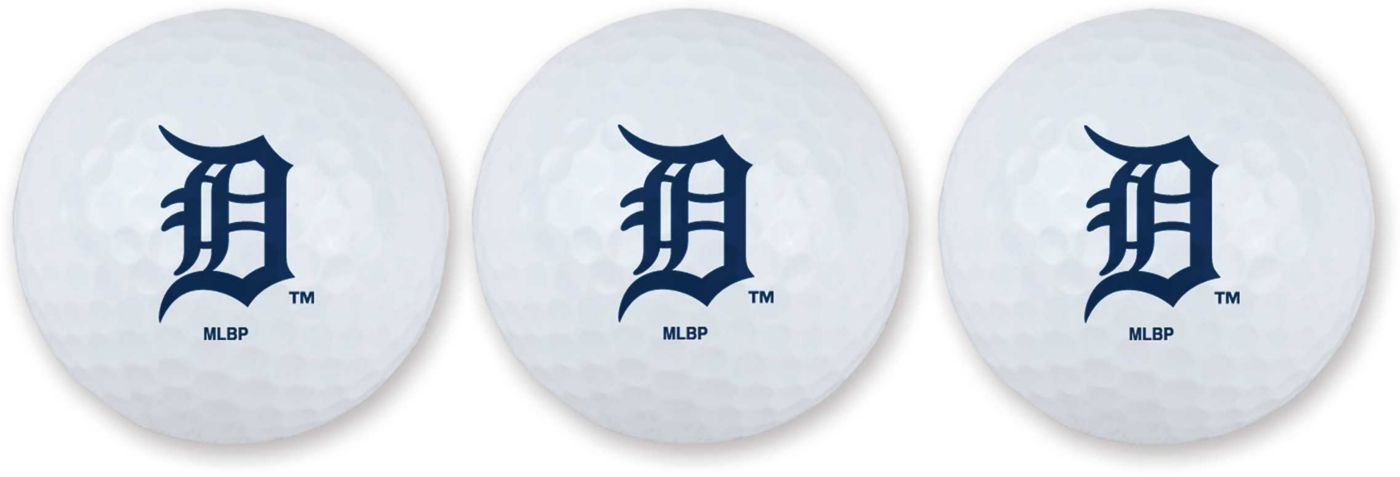 Team Effort Detroit Tigers Golf Balls - 3 Pack