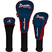 Team Effort Atlanta Braves Headcovers - 3 Pack