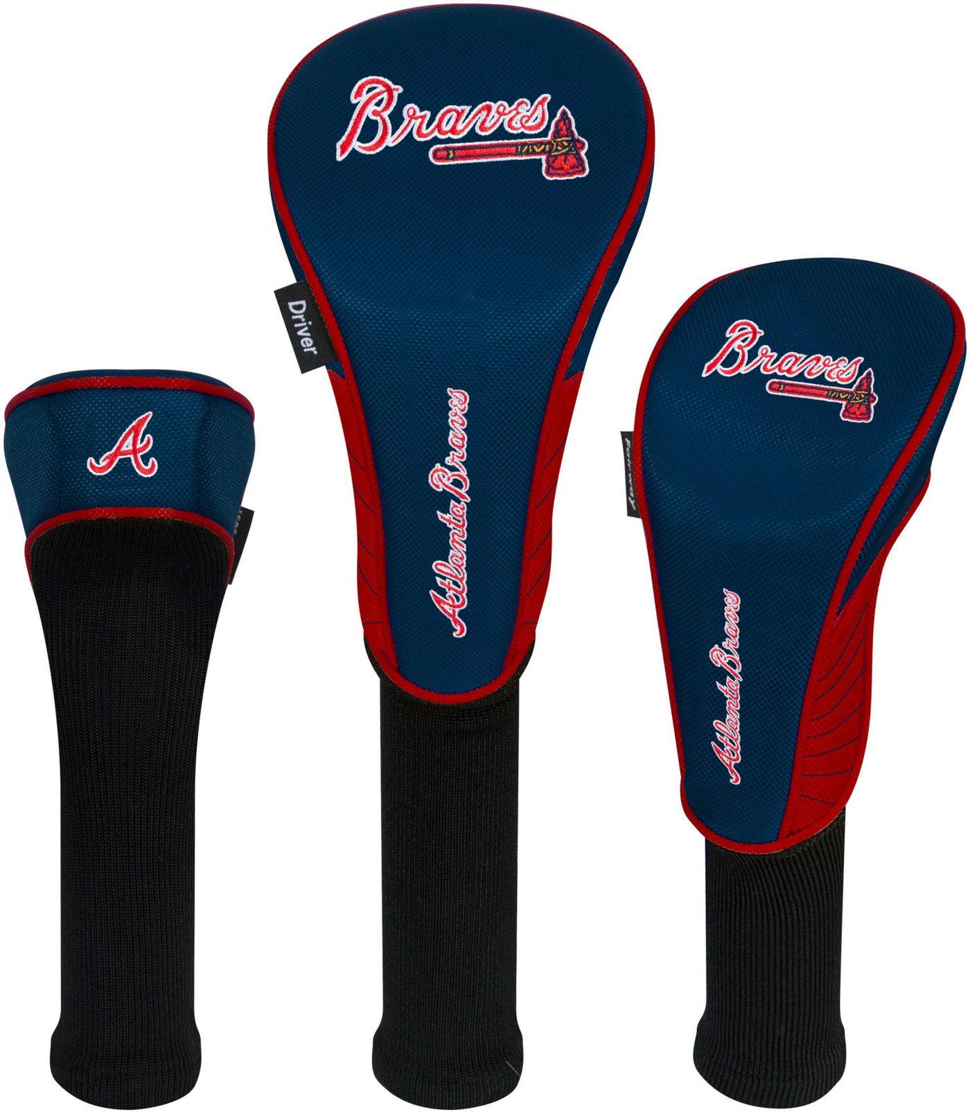 Team Effort Atlanta Braves Headcovers - 3 Pack