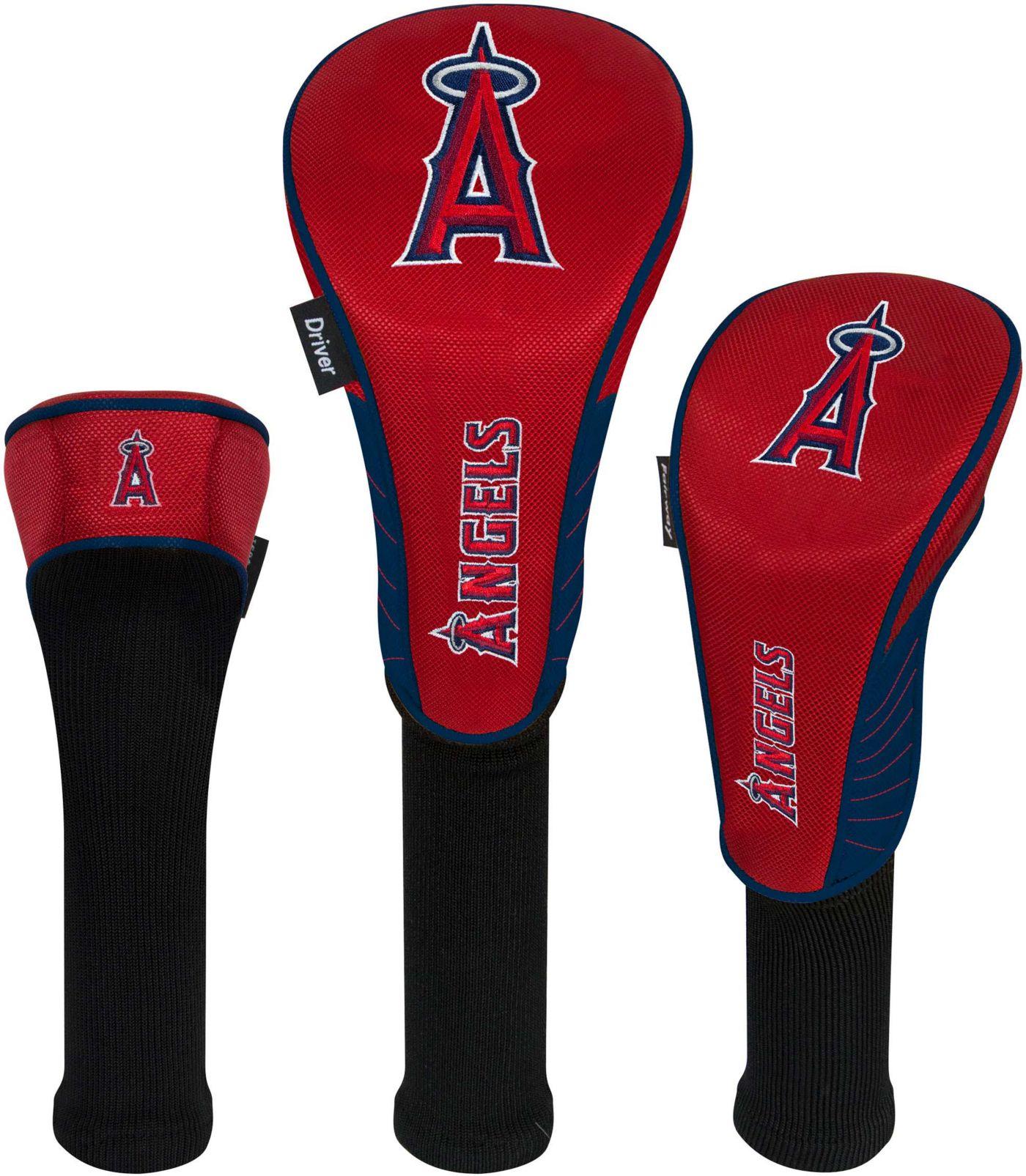 Team Effort Los Angeles Angels Headcovers - 3 Pack