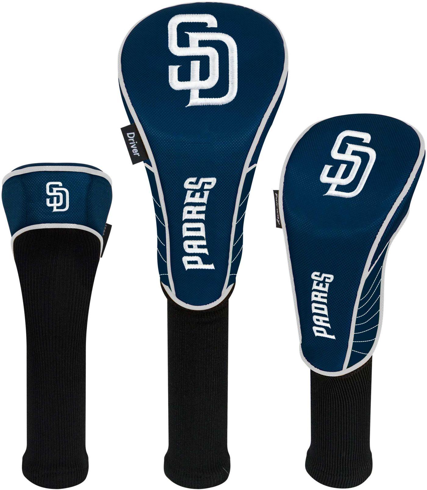 Team Effort San Diego Padres Headcovers - 3 Pack