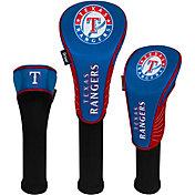 Team Effort Texas Rangers Headcovers - 3 Pack