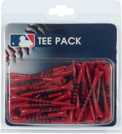 """Team Effort Boston Red Sox 2.75"""" Golf Tees - 40 Pack"""