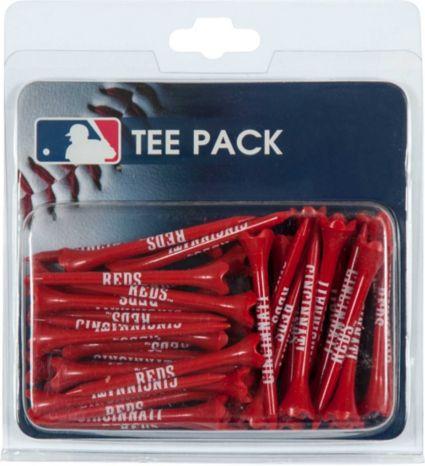 """Team Effort Cincinnati Reds 2.75"""" Golf Tees - 40 Pack"""