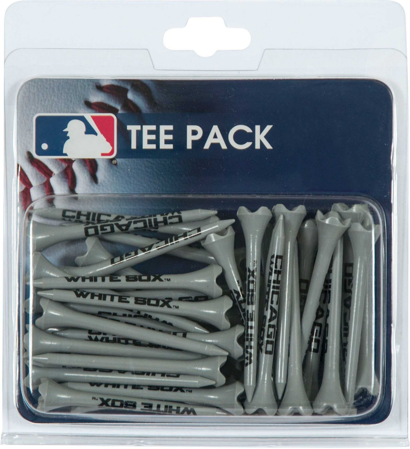 "Team Effort Chicago White Sox 2.75"" Golf Tees - 40 Pack"
