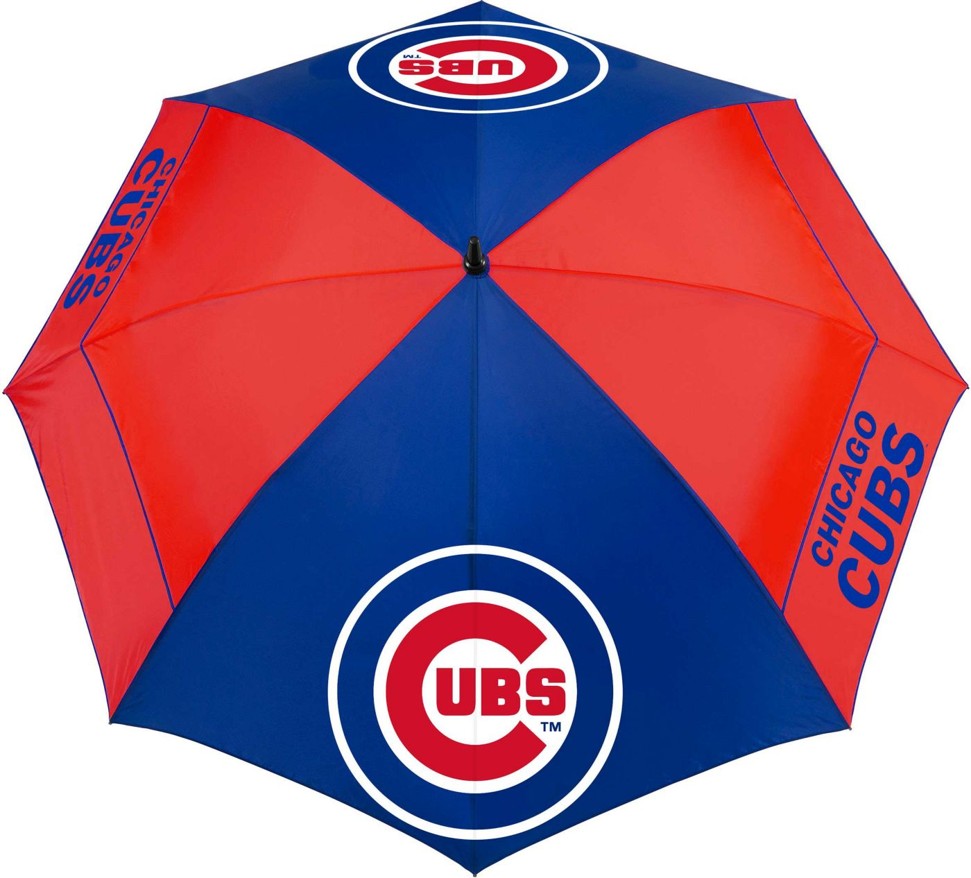 "Team Effort Chicago Cubs 62"" Windsheer Lite Golf Umbrella"