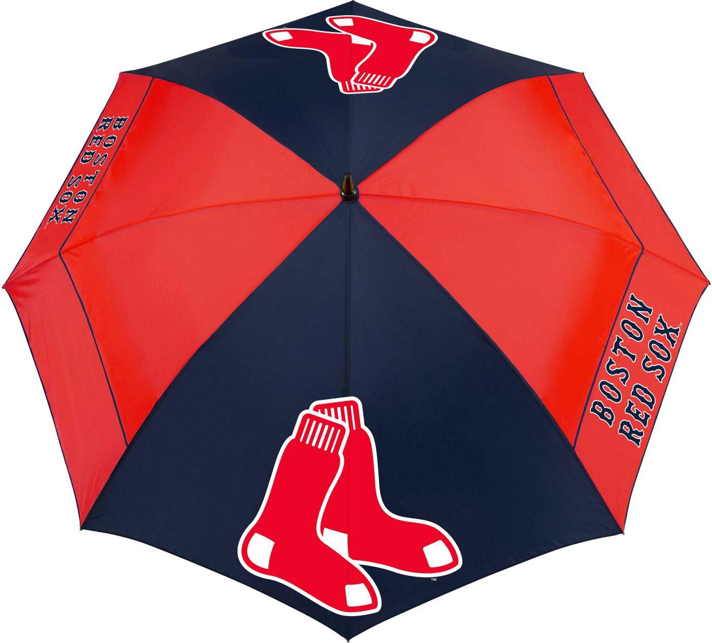 "Team Effort Boston Red Sox 62"" Windsheer Lite Golf Umbrella"
