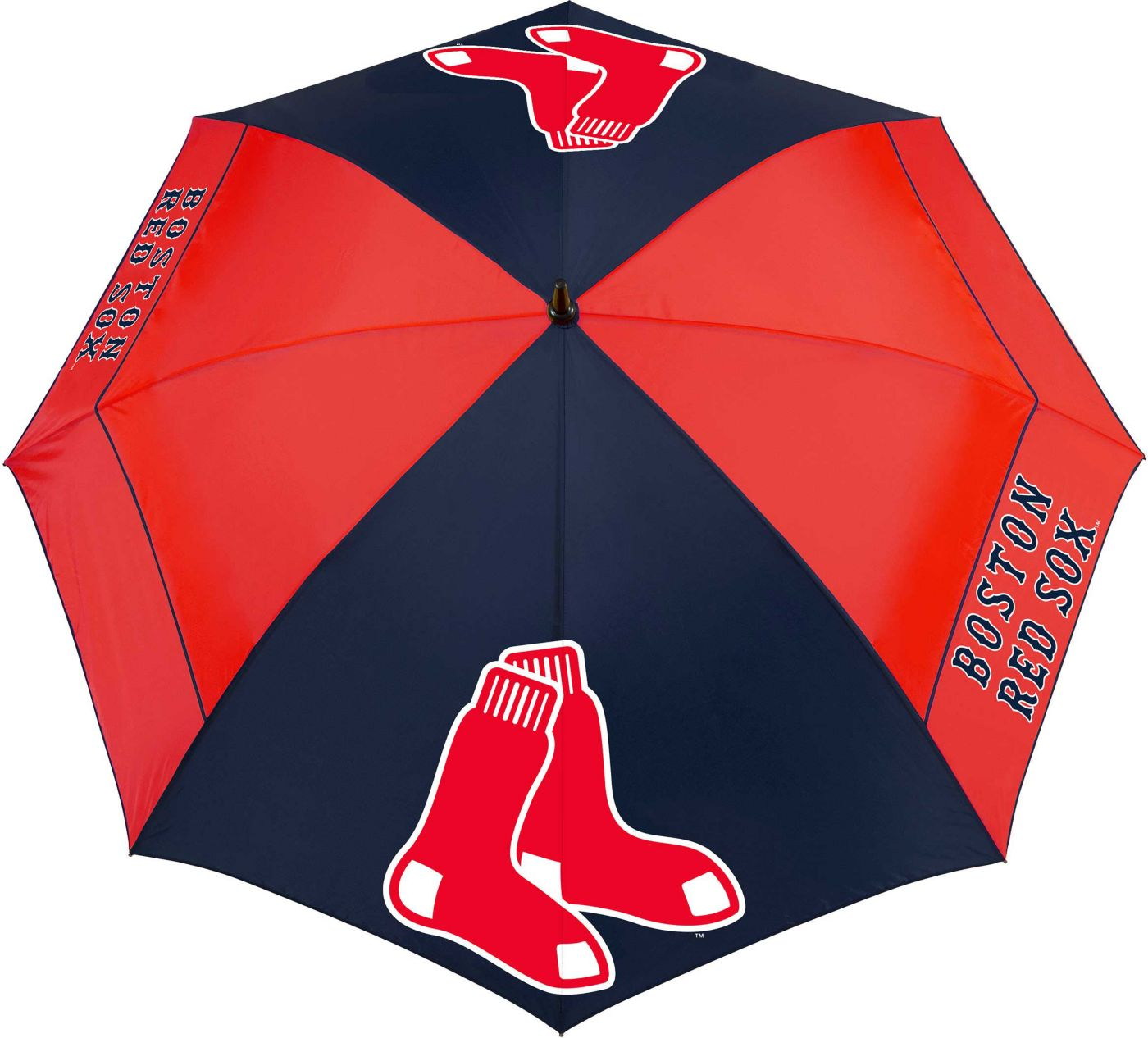 "Team Effort Boston Red Sox 62"" Windsheer Lite Golf Umbrella"