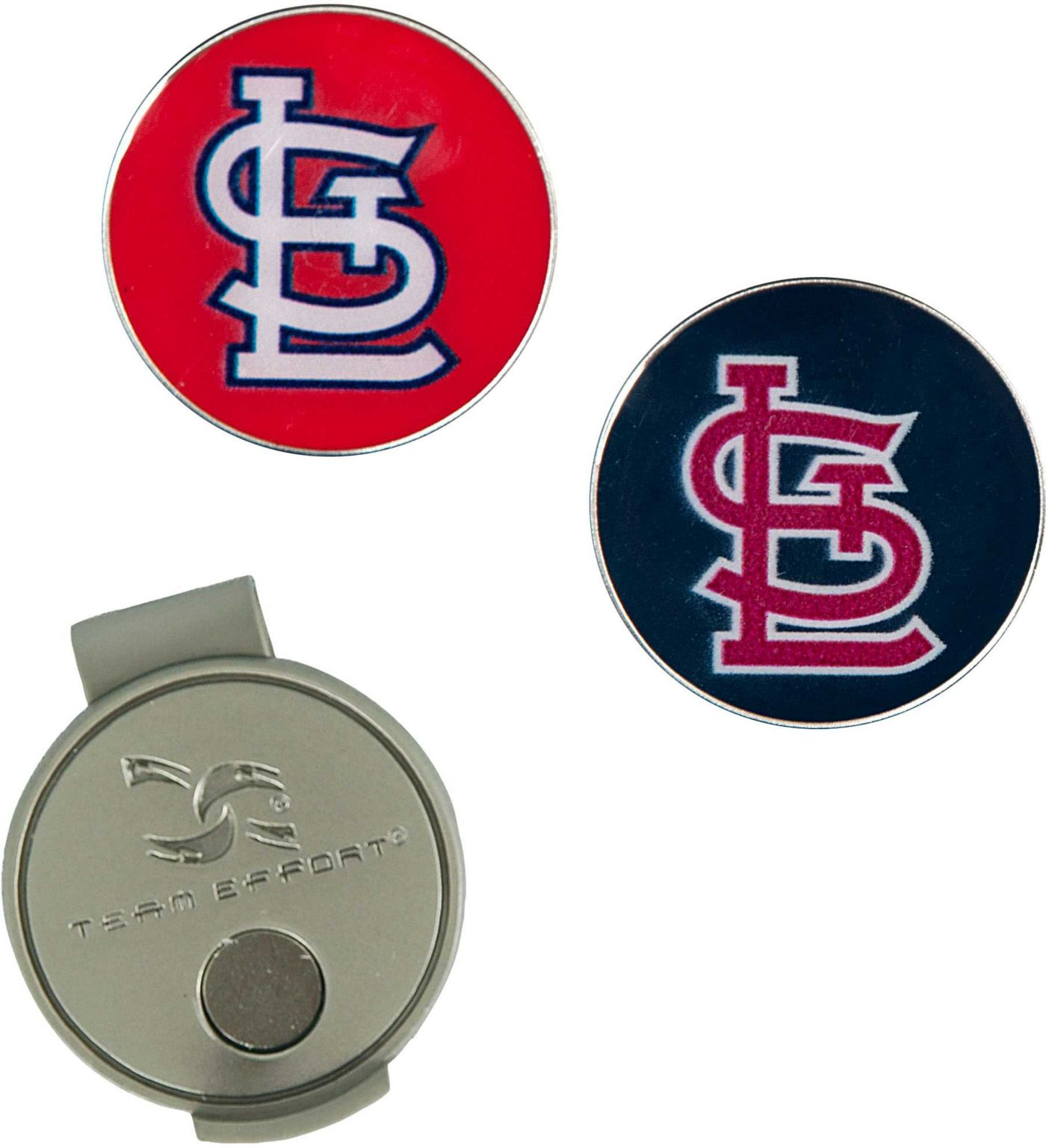 Team Effort St. Louis Cardinals Hat Clip and Ball Markers Set