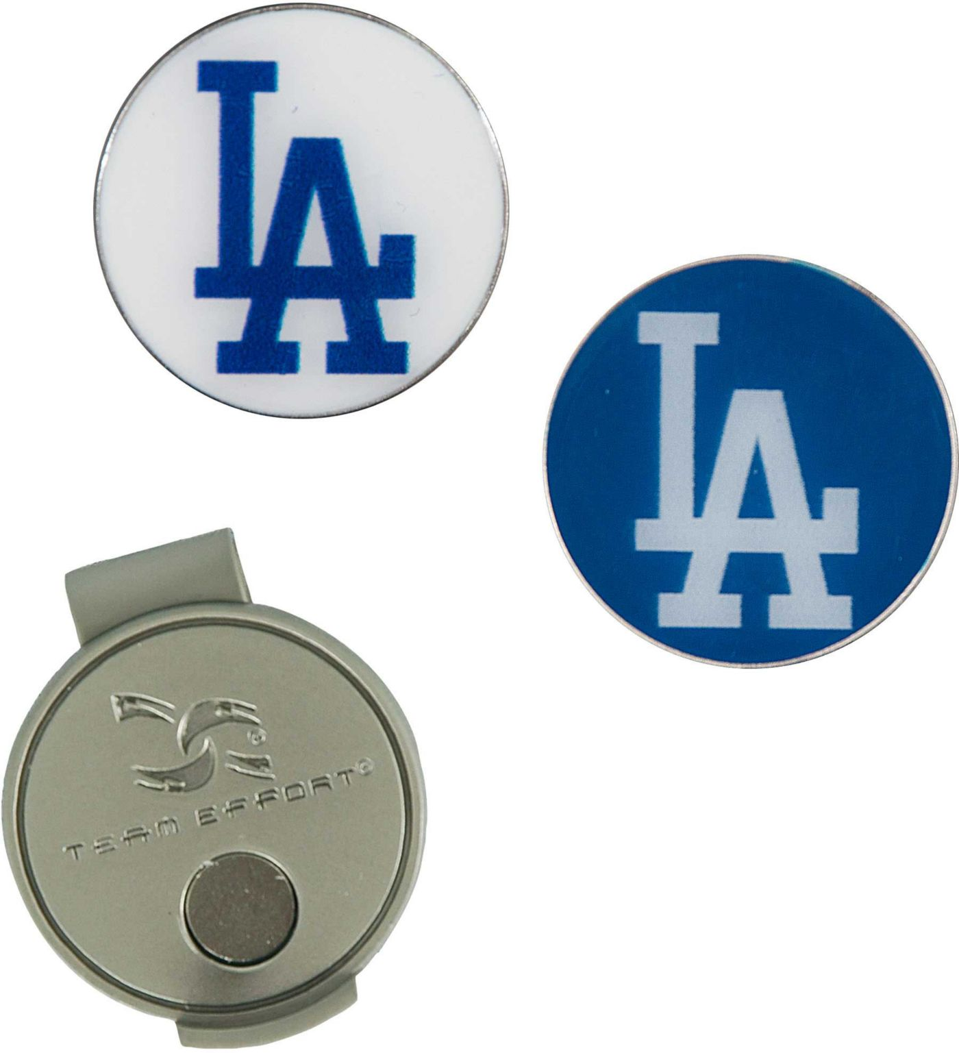 Team Effort Los Angeles Dodgers Hat Clip and Ball Markers Set