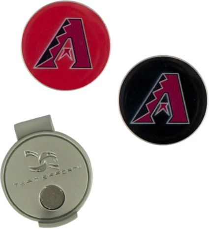 Team Effort Arizona Diamondbacks Hat Clip and Ball Markers Set