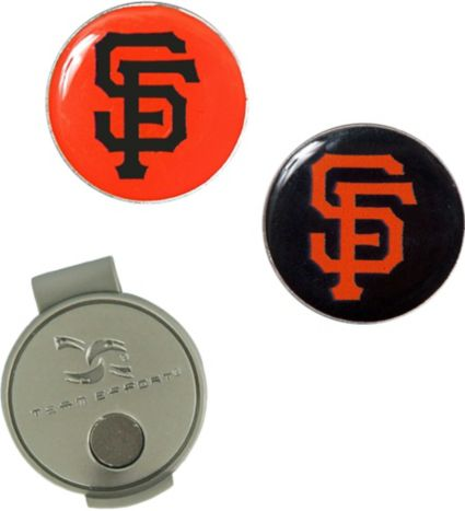 Team Effort San Francisco Giants Hat Clip and Ball Markers Set