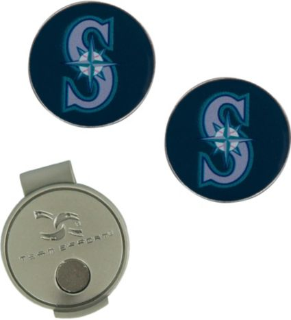 Team Effort Seattle Mariners Hat Clip and Ball Markers Set