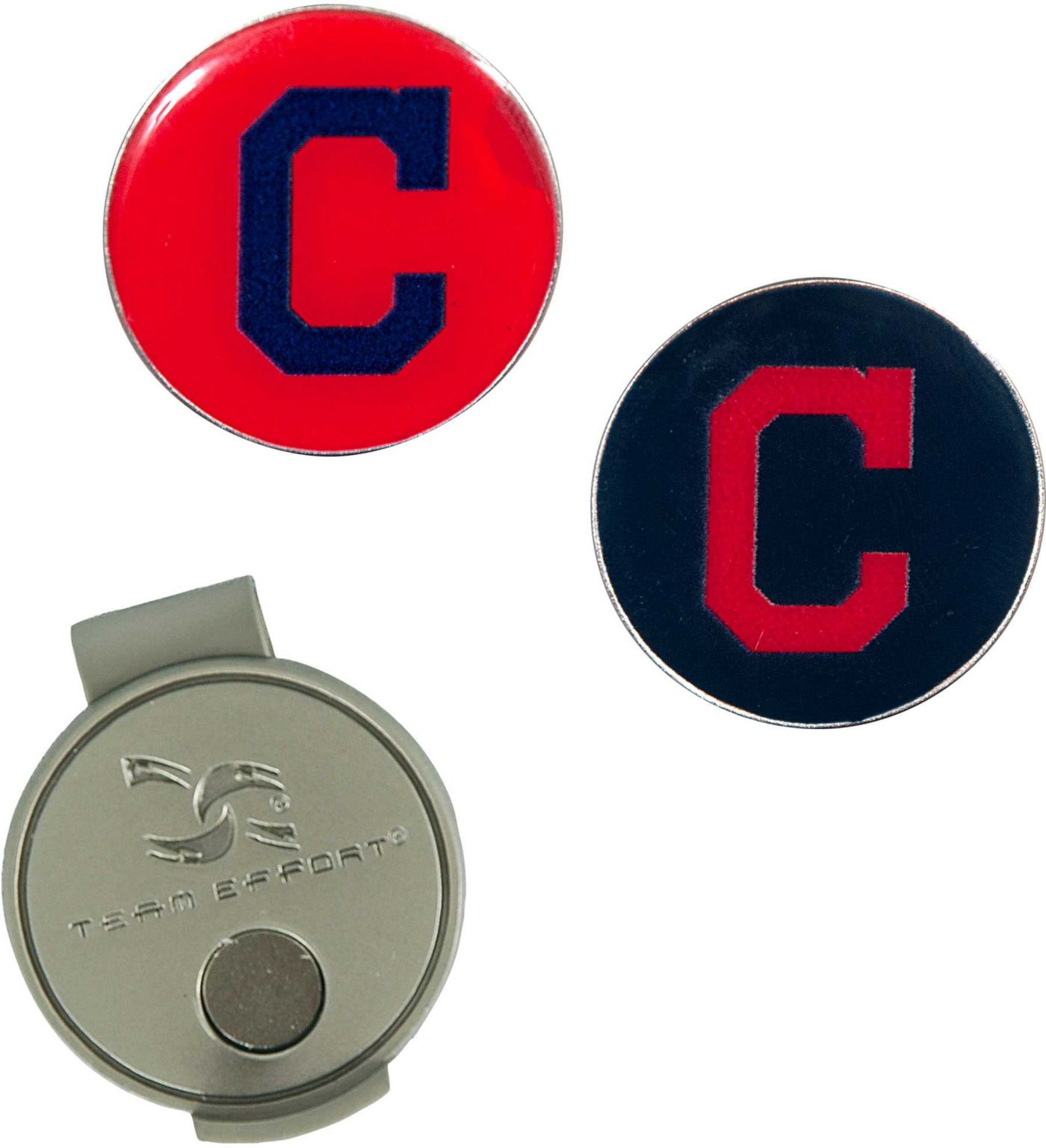 Team Effort Cleveland Indians Hat Clip and Ball Markers Set