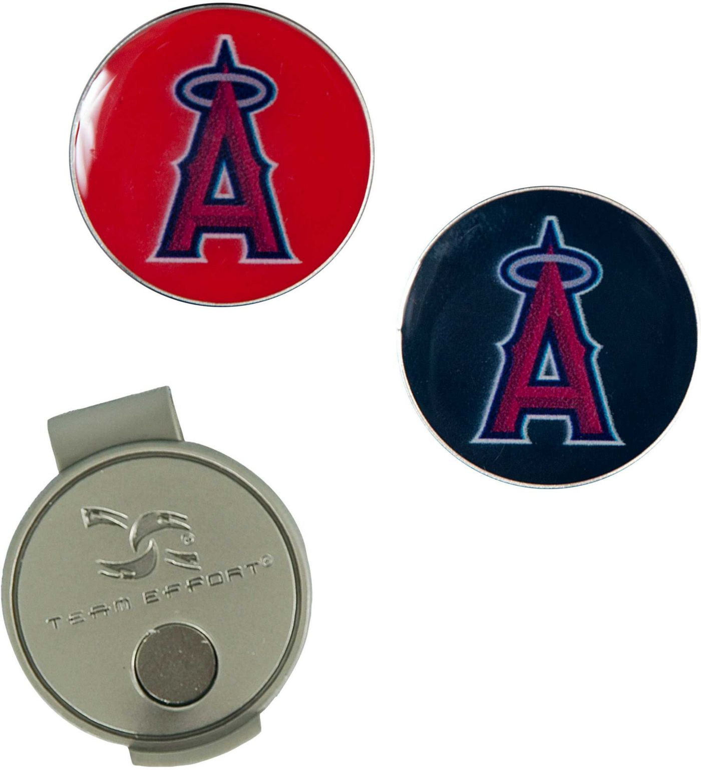 Team Effort Los Angeles Angels Hat Clip and Ball Markers Set
