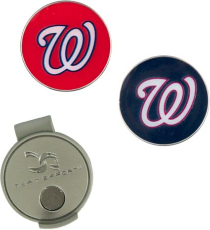 Team Effort Washington Nationals Hat Clip and Ball Markers Set